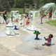 A 5,200-square-foot inclusive splash pad is coming to Sussex Village Park. The splash pad will feature three play areas.