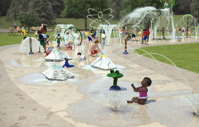 The 5,200-square-foot splash pad in Sussex, which was closed so far this summer, will be open July 6.