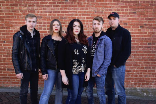 NRG will perform in downtown Yellville on Saturday night.