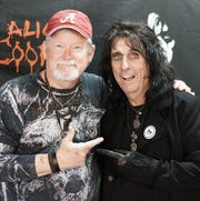 Allen Sanders and longtime rocker Alice Cooper are golfing buddies. Cooper will be back in Montgomery on Nov. 10.