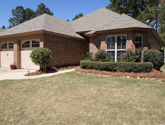 One Woodland Creek home is for sale for $215,000 and offers three bedrooms and two bathrooms within 1,571 square feet of living space.
