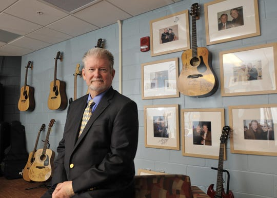 Along with promoting music through his job as the general manager of the Montgomery Performing Arts Centre, Allen Sanders is a longtime musician himself.