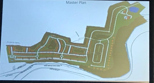 A look at the master plan of Hidden River Estates, a controversial planned development near a Murfreesboro greenway trail head.
