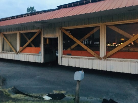 The original Cracker Barrel Old Country Store was recently hauled from State Route 109 in Lebanon to the Wilson County Fairgrounds in hopes it can be restored and used again as a museum.