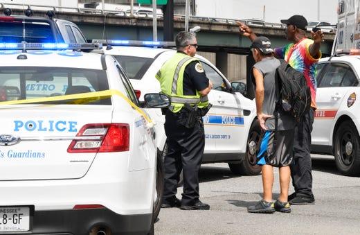 Nashville traffic: Pedestrian killed in Broadway crash
