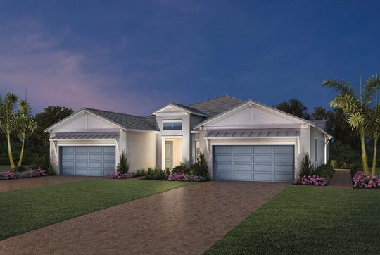 Azure at Hacienda Lakes' Villa Collection homes start at 1,500 square feet and feature a variety of open floorplans with spacious living areas and outstanding included features.