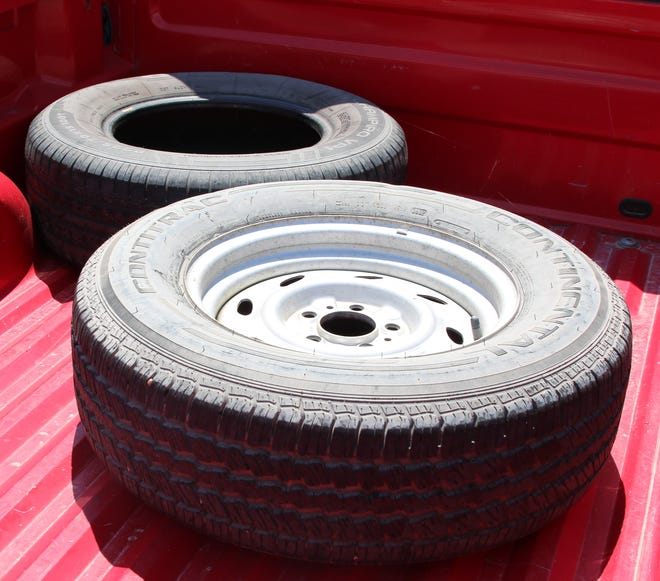 Illegally dumped tires are a problem in the City of Carlsbad and Eddy County.