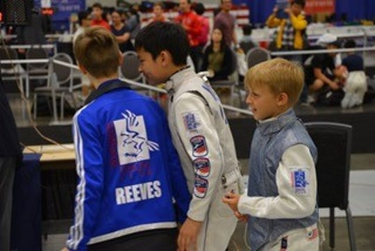 The Renaissance Fencing Club placed third at the national championships earlier this month.
