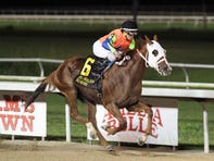 Is Too storms home to win Opelousas Stakes