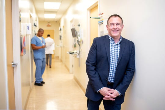 Jim Mangia, CEO of St. JohnÕs Well Child and Family Center, poses at the Los Angeles health center on Tuesday, July 2, 2019. Mangia has a close relationship with the trans community and St. Johns is the largest provider of transgender health services in California. (Photo by Sarah Reingewirtz, Pasadena Star-News/SCNG)