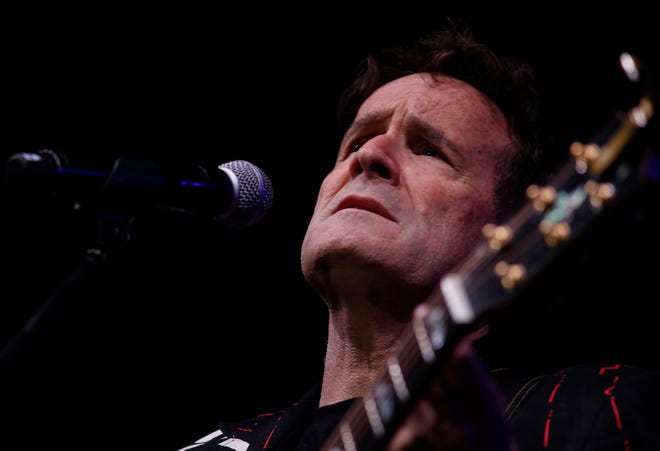 On  Nov. 11, 2017, Johnny Clegg performs on stage during his own farewell concert in Johannesburg.