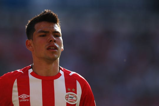 Hirving 'Chucky' Lozano, jugador del PSV de Holanda.