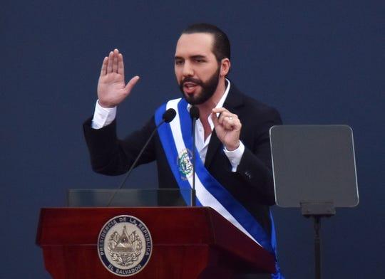 Nayib Bukele, presidente de El Salvador.