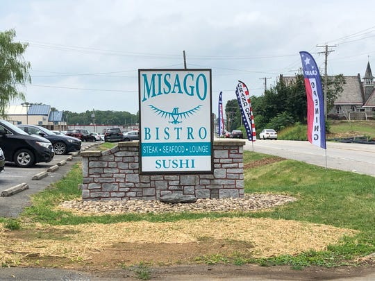Misago Bistro replaces the former Inn 422 in West Lebanon Township, serving sushi and other Japanese cuisine.