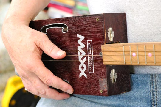 The Cigar Box Guitar was first documented during the Civil War.