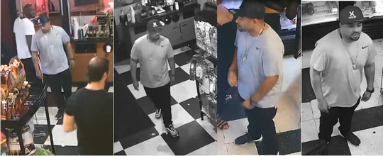 New surveillance images of Samuel Ortiz, released by the Rochester Police Department.