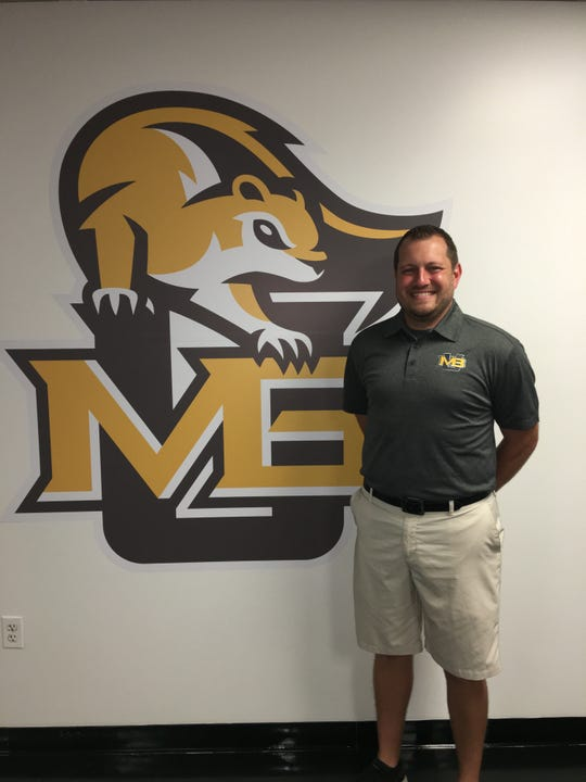Michael Bair is the new men's soccer coach at Mary Baldwin University.