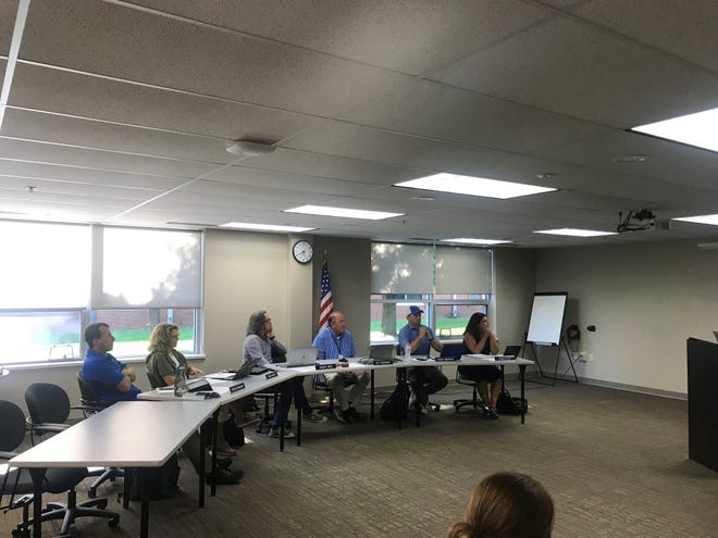 Sartell-St. Stephen school board at the July 15, 2019 meeting.
