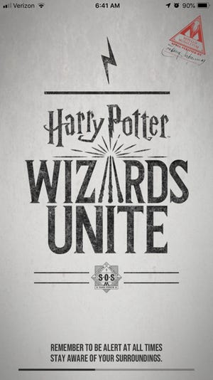 """""""Harry Potter Wizards Unite"""" brings the world's most popular young wizard to the world of augmented-reality gaming."""