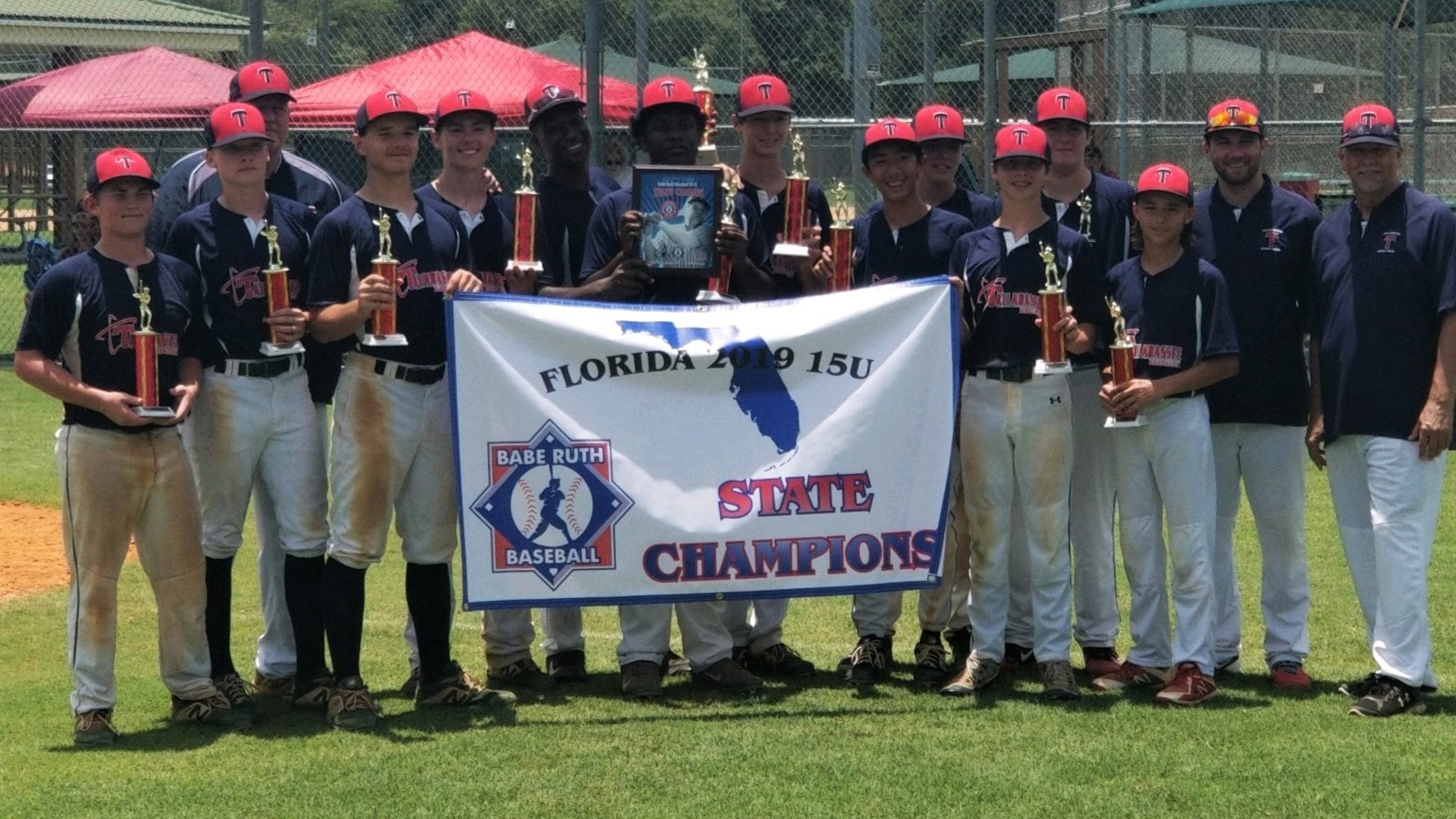 Tallahassee-Leon Babe Ruth goes 2 for 2 at state tournaments