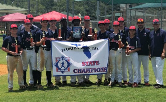 The Tallahassee-Leon Babe Ruth 15U all-stars went 4-0 to capture a Florida state title.  Players: Graham Burk, David Carter, Anthony Grant, Jordan Logsdon, Jayden Mock, Clayton Nash, Gordon O'Donnell, Gus Parker, Adam Parzych, Tyler Ritchie, Kerrick Roberts, Austin Spinks, Tristan Turner, John Woo IV;  Manager: Bruce Williams; Assistant coaches: Taylor Mauck, Paul Mauck Jr.
