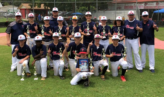 The Tallahassee-Leon Babe Ruth 13U all-stars went 3-0 to capture a Florida state title.   Players: Davis Avera, Myles Bailey, Jay Campbell, Andrew Colombo, Gabe Del Fuoco, Phillip Garcia, Garrett Harper, Will McDonald, Gavin Rudd, Jake Ryon, Josh Schuchts, Eric Stillman, Ryan Stillman, Kyler Thorp, Garrett Workman; Manager: Mike Harrison; Assistant coaches: Jim Hage, Benny Hewett, Brent Sims