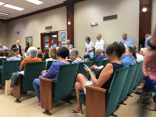 Vero Beach council meeting to discuss the Leisure Square swimming pool on Tuesday, July 16, is standing room only.