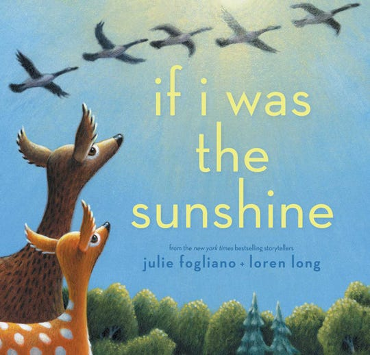 """If I was the Sunshine"" by Julie Fogliano and Loren Long"