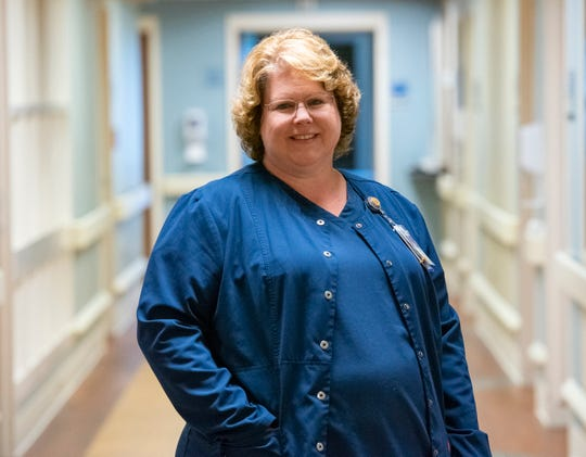 Stacy Uhrich is a nurse at Bon Secours St. Francis Health System.