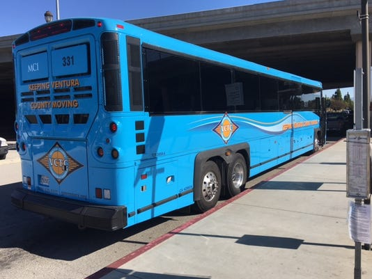 The Ventura County Transportation Commission is discontinuing a pilot bus route started in late 2016 to primarily transport South Oxnard residents to their retail jobs at the Camarillo Premium Outlets.