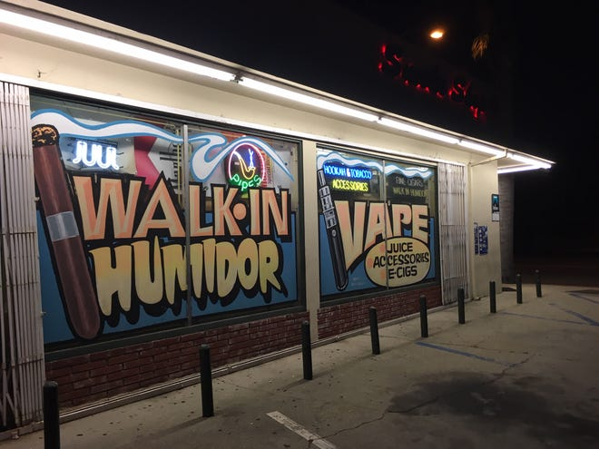 Ventura's looking to ban tobacco retailers from selling flavored products, feeling they target youth.