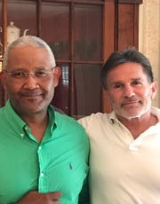 The law offices of Rick Pescatorerecently made a substantial donation to Let the Children WI, a nonprofit organization endeavoring to enhance the lives of impoverished children in Haiti. Pescatore(right) is pictured with Pastor Max Saint-Jean from LTC.