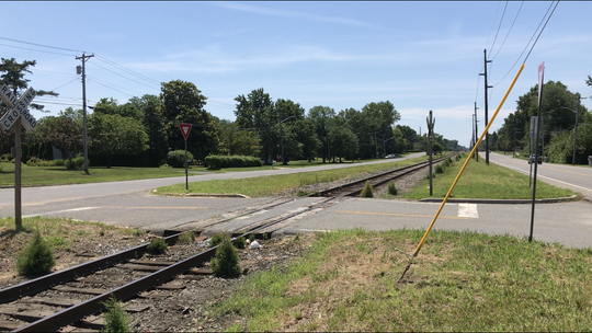 The Arbor Avenue railroad crossing at the Boulevard in northern Vineland closes for good on Thursday, July 18.
