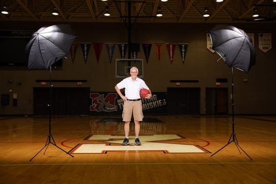 After his athletic career at Muskingum College, now Muskingum University, ended, Jim Burson became the Muskies' head basketball coach. After a 38-year career, he now teaches other coaches how to be better coaches.