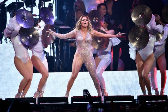 Jennifer Lopez performs at Madison Square Garden on July 12, 2019 in New York City.