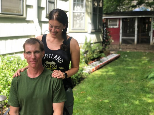 Dacia Grayber, a firefighter in the Portland metro area, was shocked to discover that her job offered no paid family medical leave when her husband, Matt Laas, also a firefighter, was diagnosed with throat cancer in March.