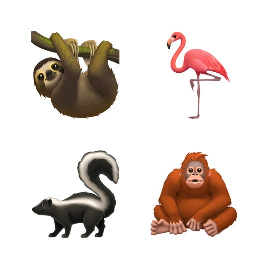 Fifty-nine new emoji are coming to Apple devices