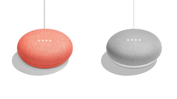 Get a Google Home Mini in a color you love.