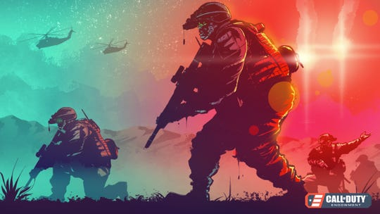 """This new """"Night Raid"""" theme art created by Max Uriarte, is available for PlayStation 4 and supports the Call of Duty Endowment."""