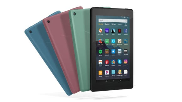 The Amazon Fire 7 tablet is perfect for reading, games and web browsing