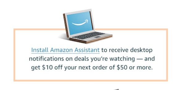 Amazon wants to give you $10 for access to more data  Is it