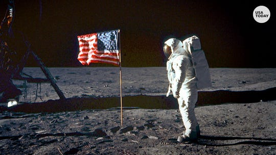 Witness Apollo 11's perils and elation in 80 seconds