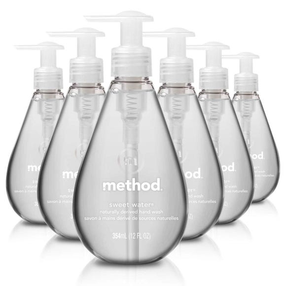 Method liquid hand wash uses naturally derived ingredients.