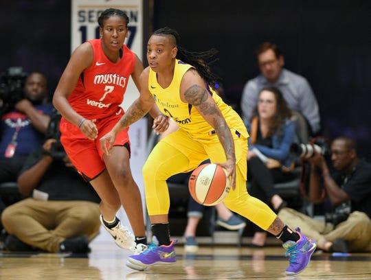 WNBA suspends Los Angeles Sparks' Riquna Williams 10 games for domestic violence