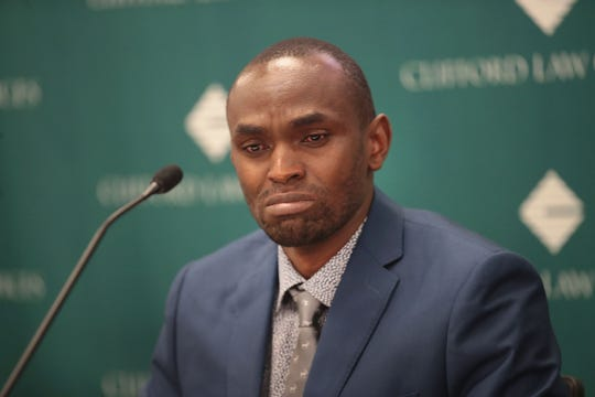"""""""I'd like to see (Boeing CEO) Dennis Muilenburg and the executives resign, because they caused the deaths of 346 people,"""" Paul Njoroge said. """"They should be held liable criminally for the deaths of my wife and my children and my mom-in-law and 152 others in the crash of Ethiopian Airlines flight 302 because that was preventable."""""""