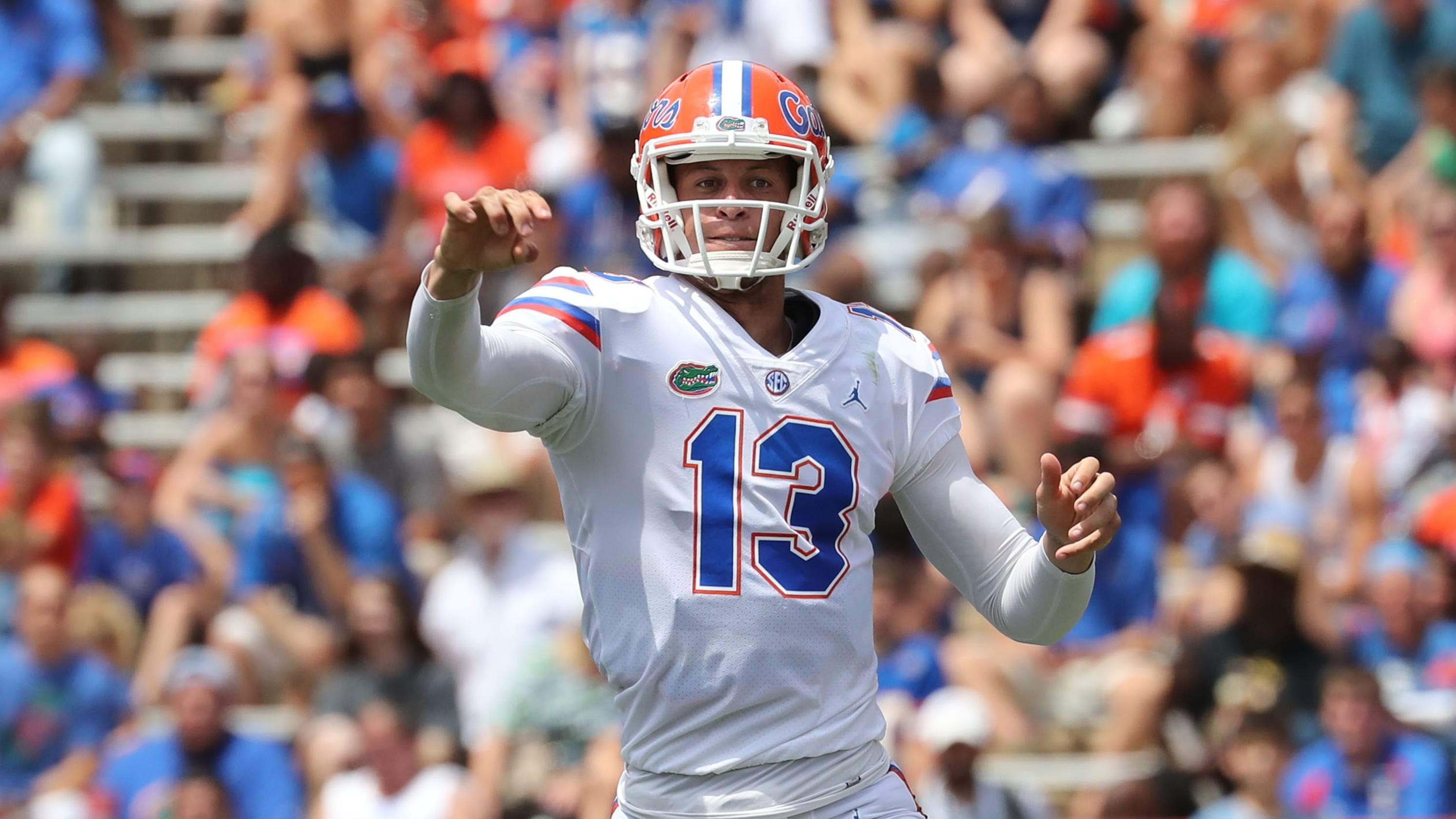 the best attitude cfaaa aa4a0 Next Tim Tebow? Florida quarterback Feleipe Franks signs ...