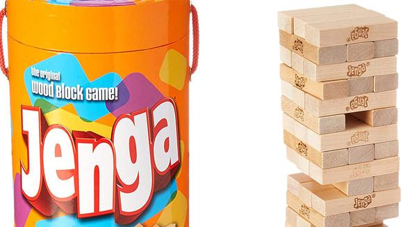 Jenga is fun for kids and adults alike