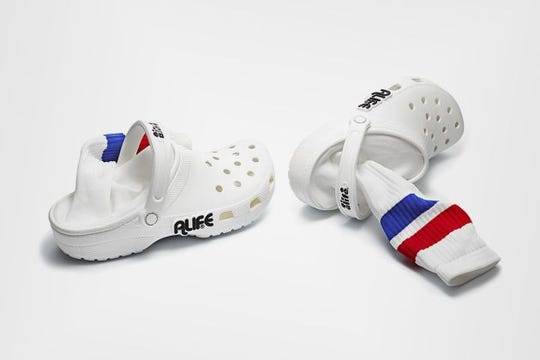 An Alife and Crocs collaboration.