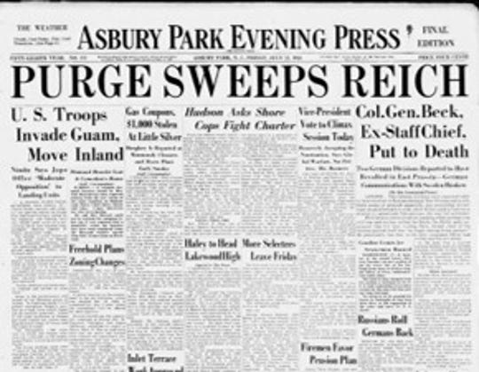 July 21 1944 front page