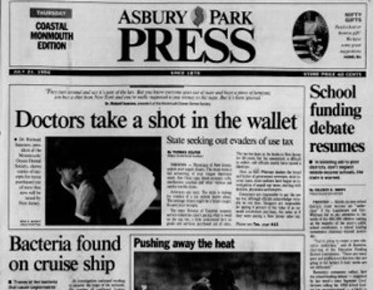 July 21 1994 front page